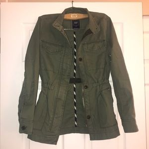 GAP Olive Utility Jacket XS